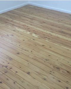 Cypress Pine finished with a water based matt.