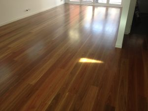 Spotted Gum finished with Synteko Classic.